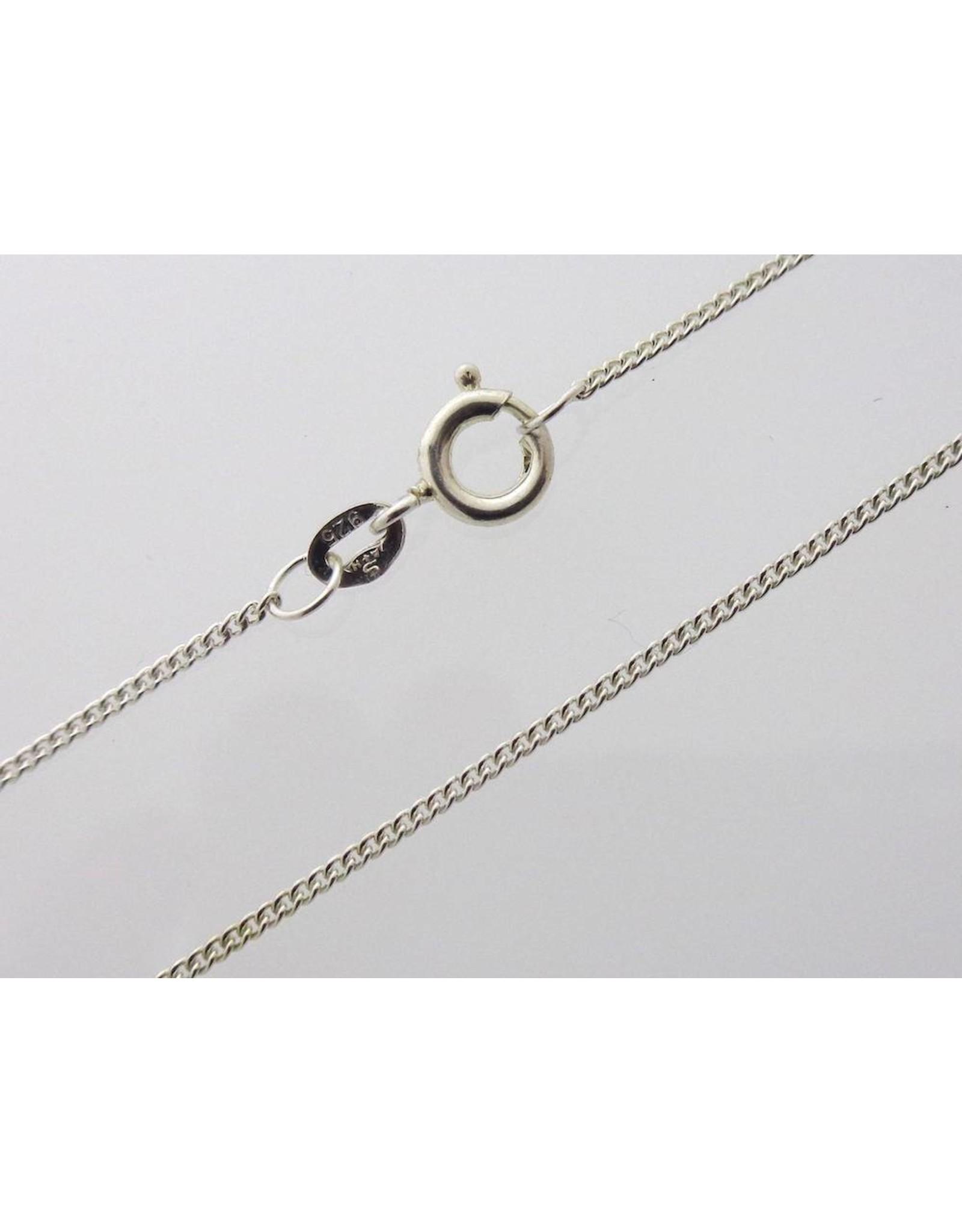 Zilveren ketting Gourmet - 1 mm (925)