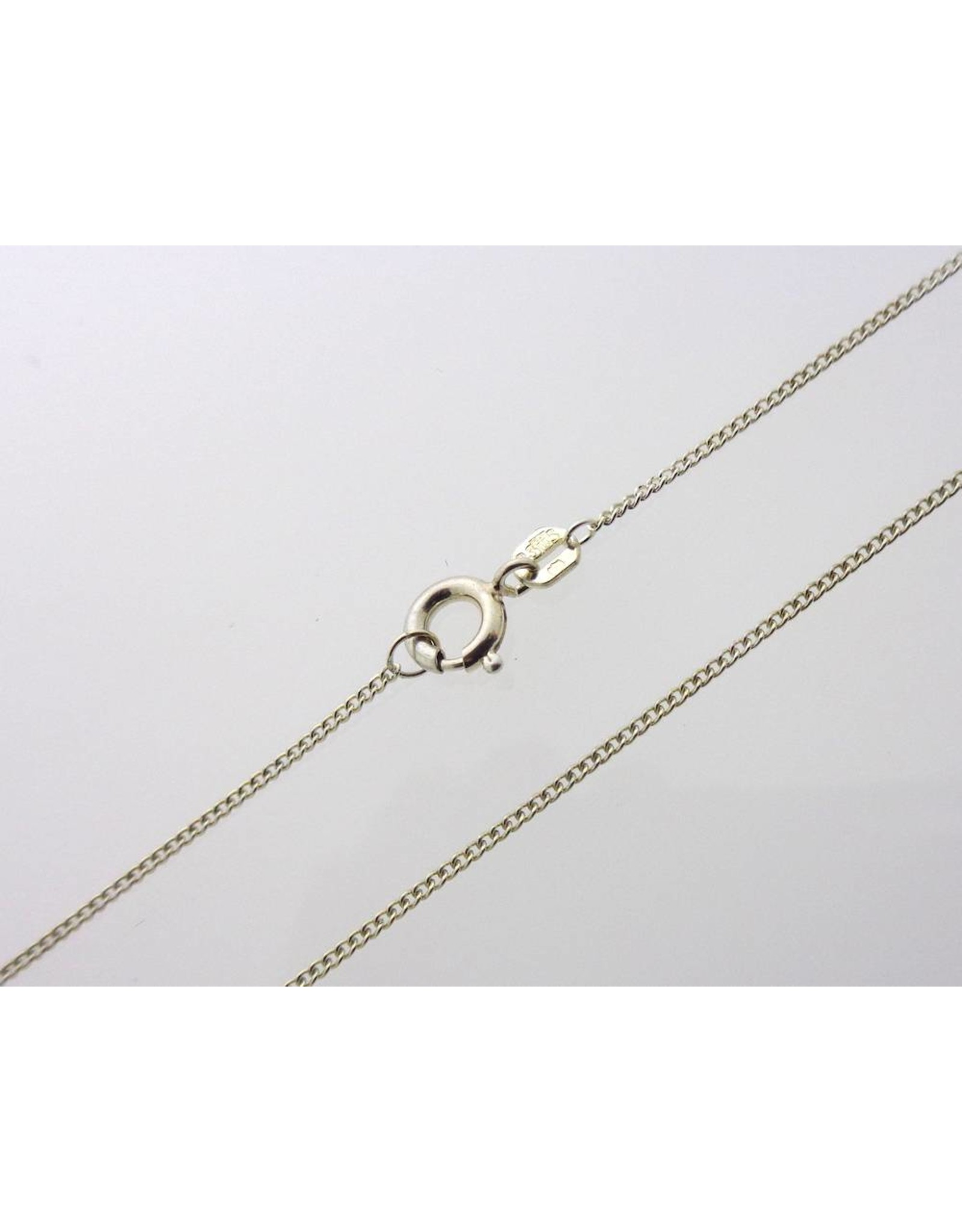 Silver necklace - 1 mm (835)