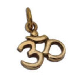 Shanti pendant Ohm brass