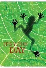 ZintenZ postkaart It's your day
