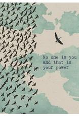 ZintenZ postcard No one is you