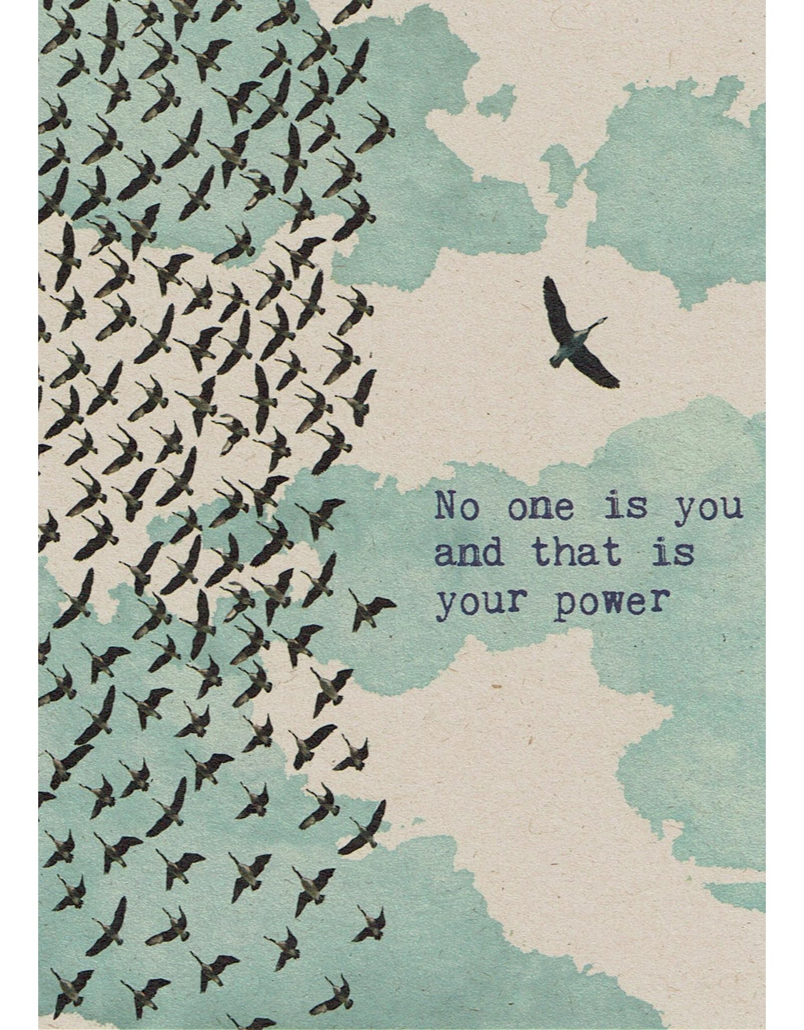 ZintenZ postkaart No one is you