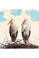 ZintenZ postcard Storks