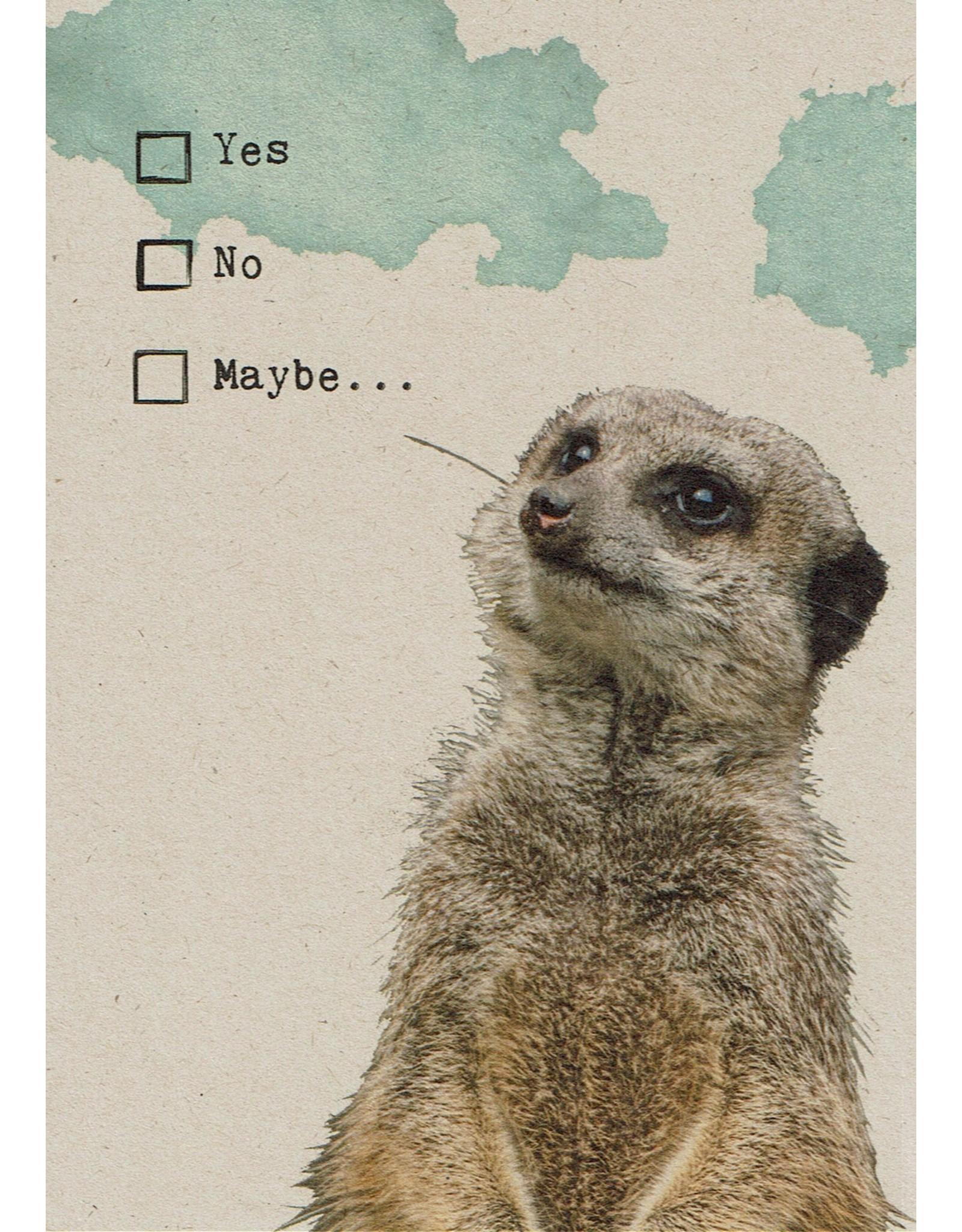 ZintenZ postcard Yes No Maybe