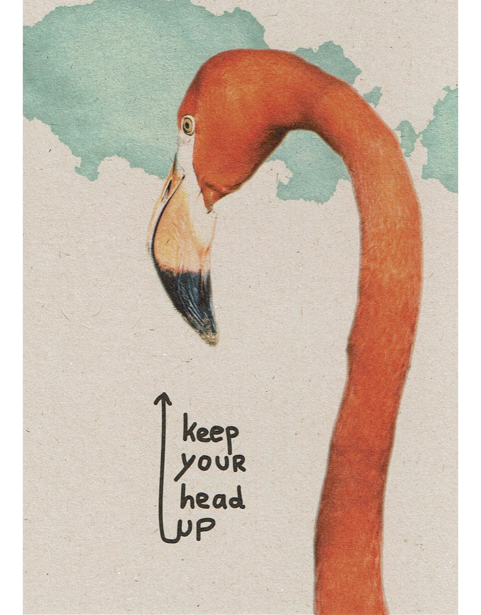 ZintenZ postcard Keep your head up