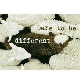 ZintenZ postcard Dare to be different