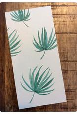 ZintenZ Notitieblokje Palmbladeren