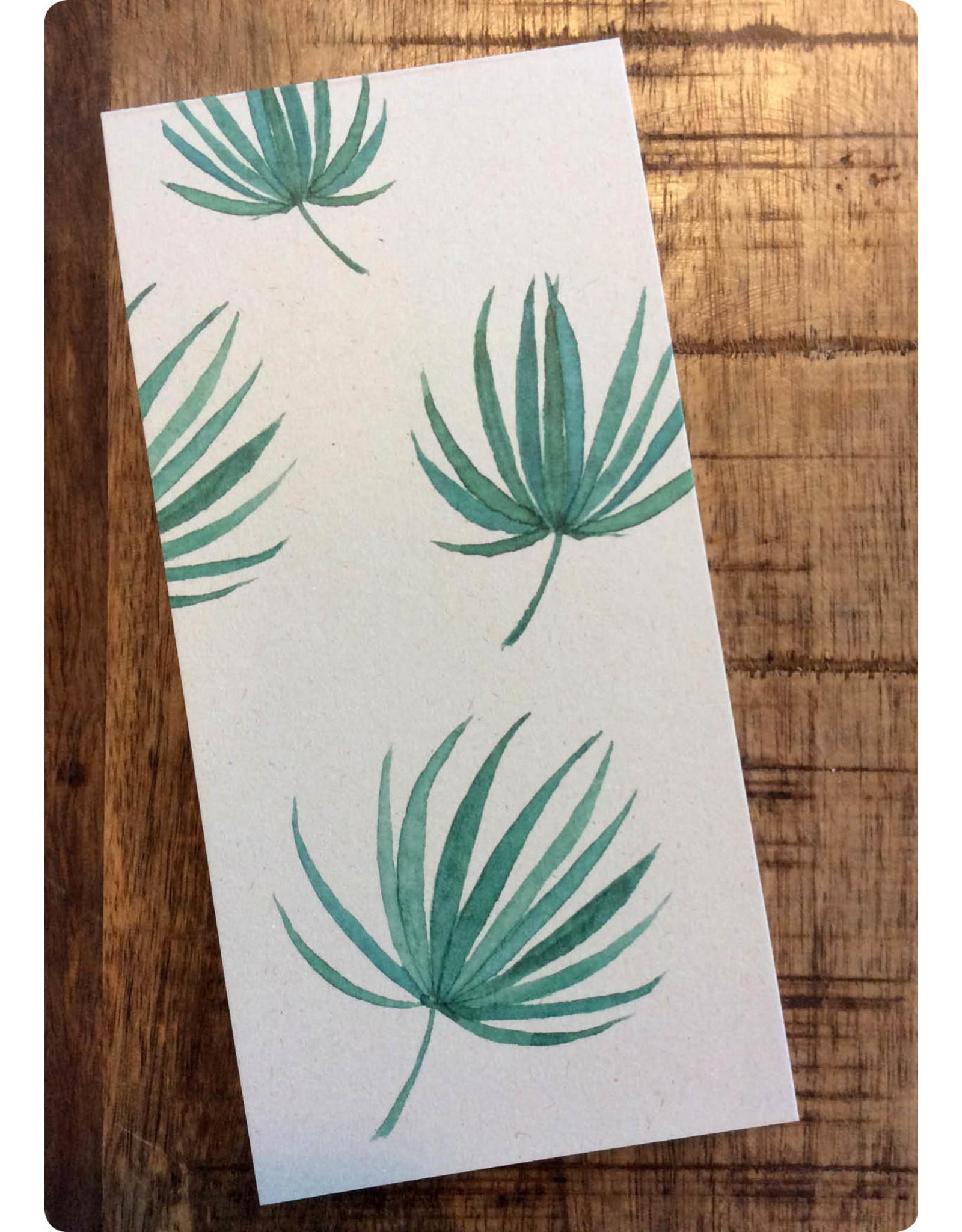 ZintenZ Notebook Palm leafs