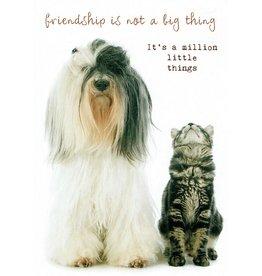 ZintenZ postcard Friendship