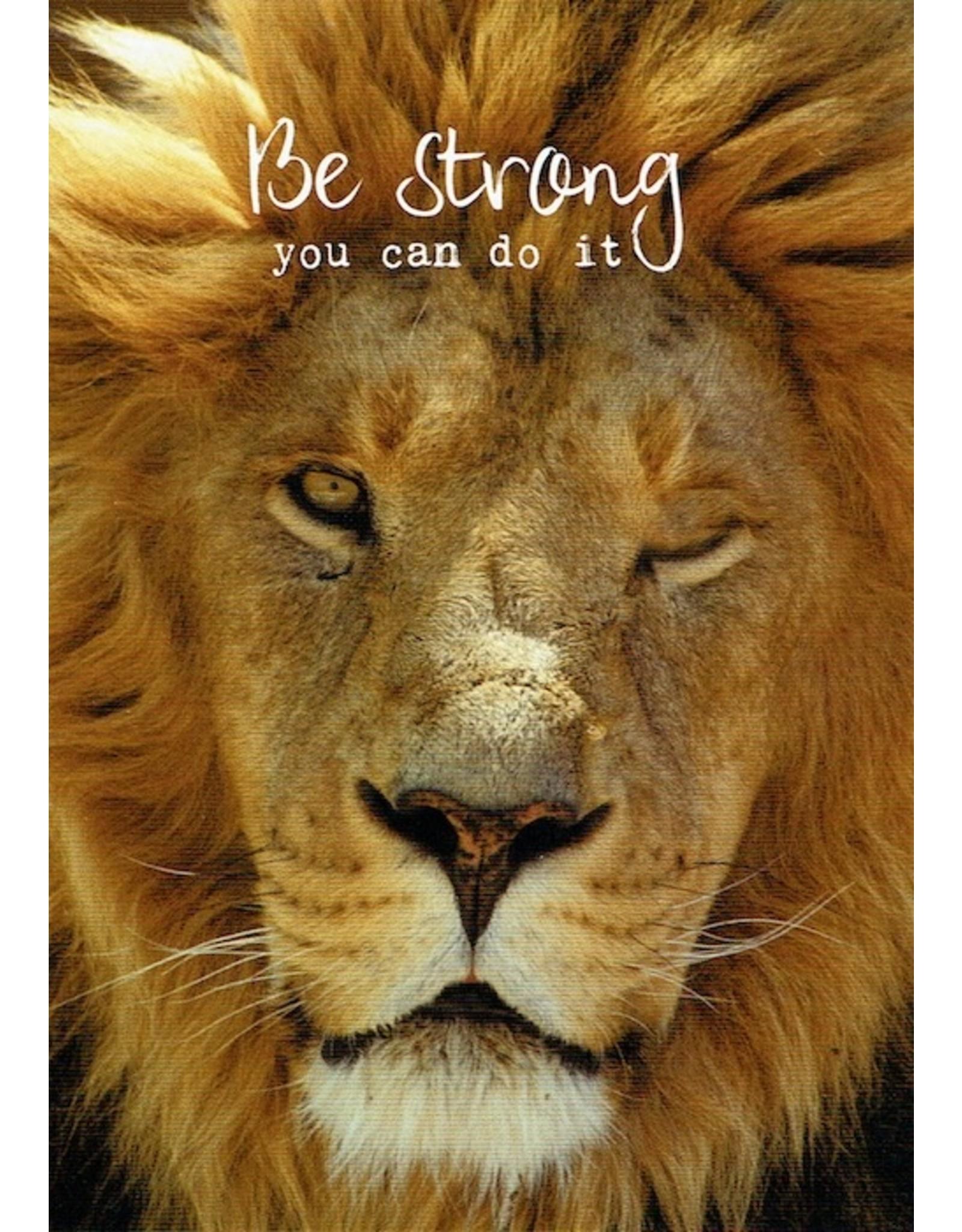 ZintenZ postkaart Be strong