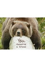 ZintenZ postkaart You deserve a break