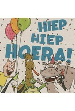 ZintenZ postcard Hiep Hiep Hoera