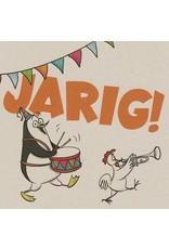 ZintenZ postkaart Jarig