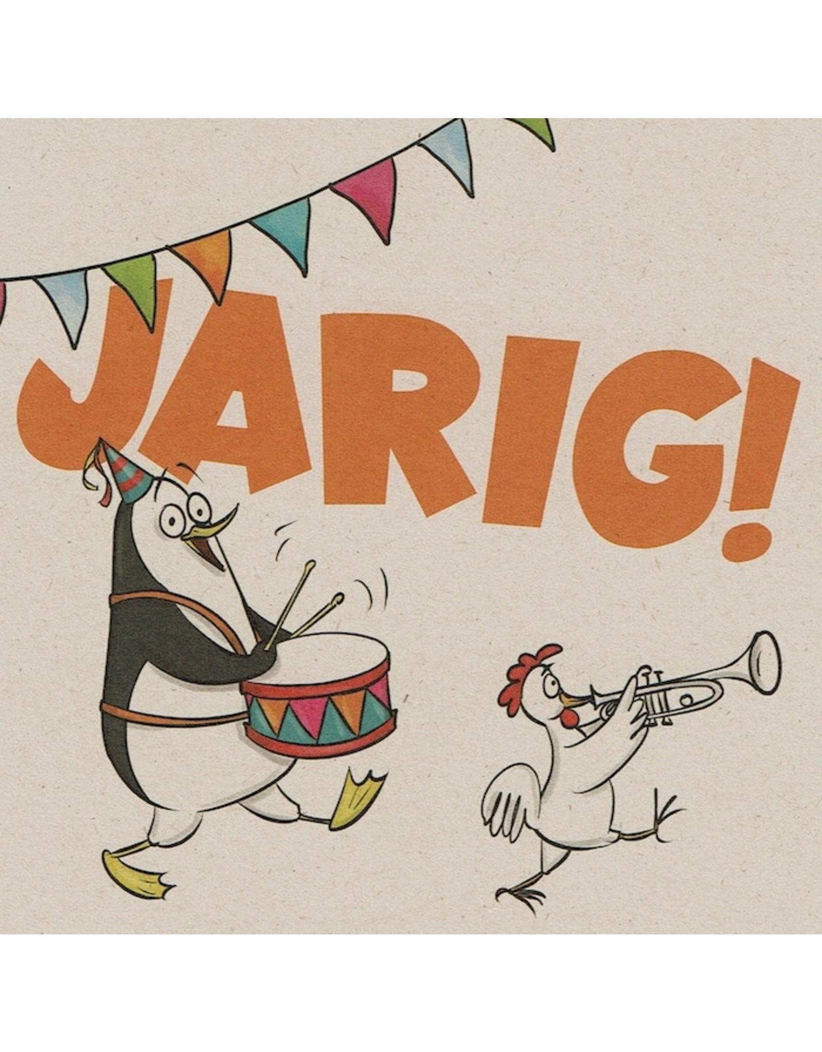 ZintenZ postcard Jarig