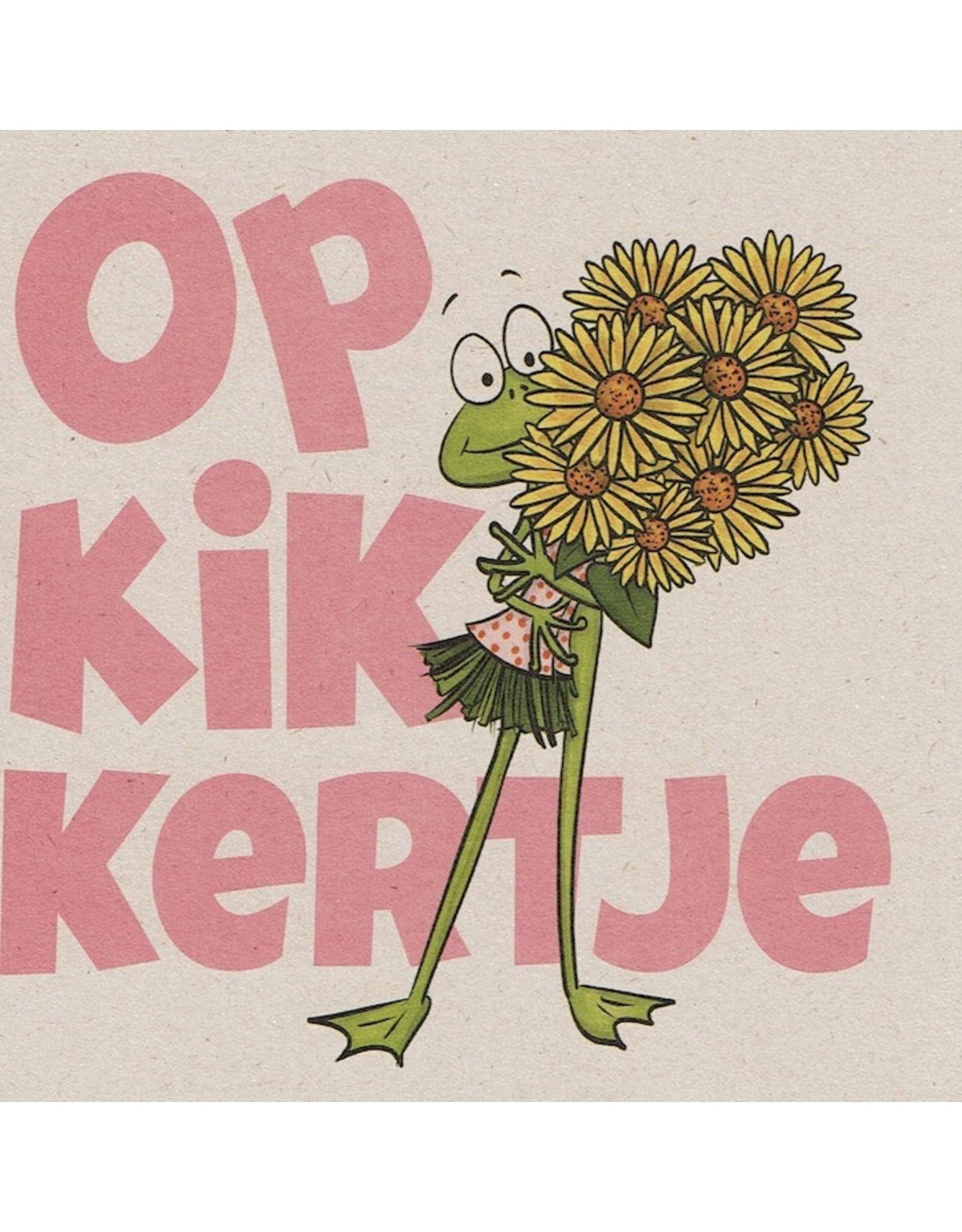 ZintenZ postcard Opkikkertje