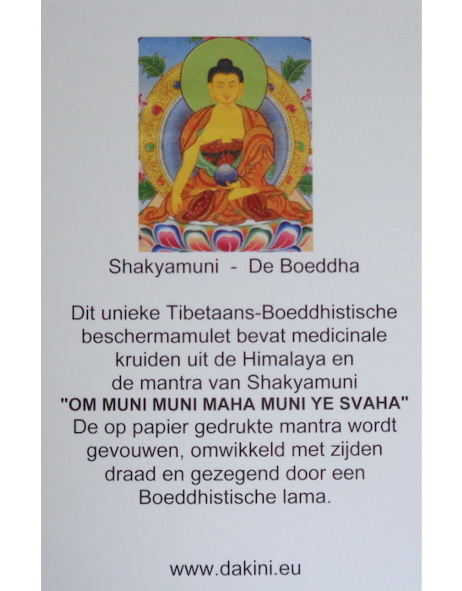 Dakini Tibetan protection amulet Shakyamuni