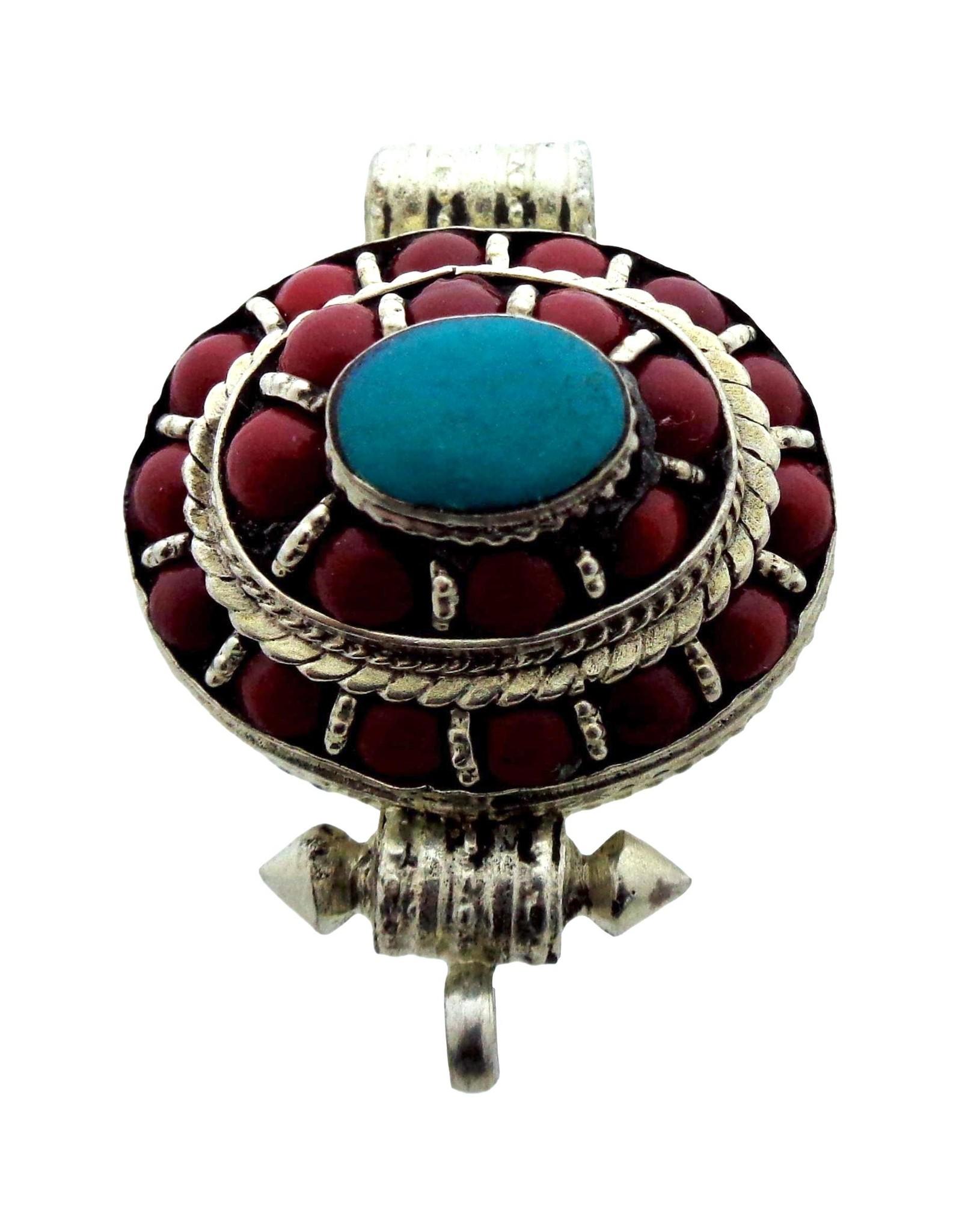 Dakini Tibetan Gau box oval