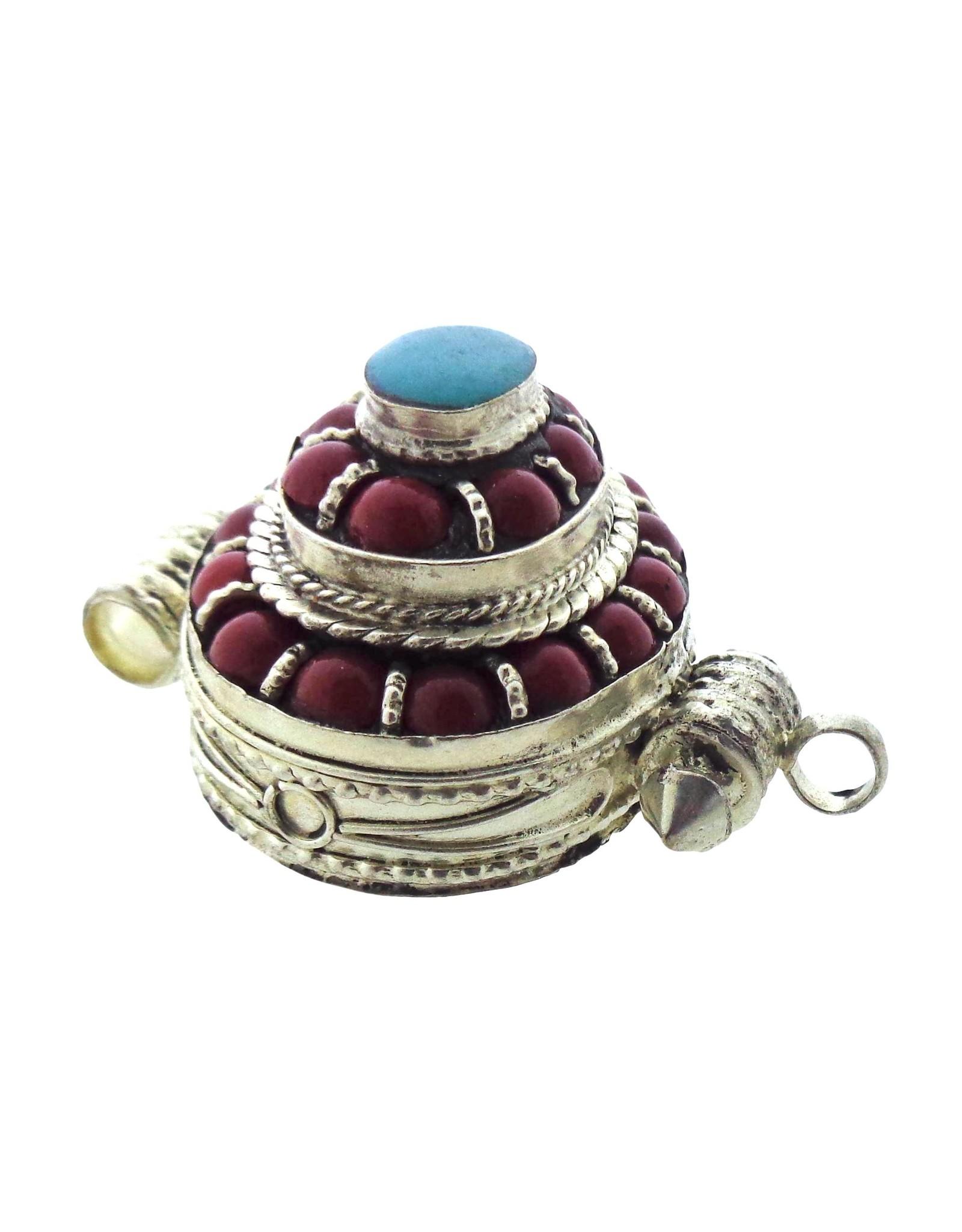 Dakini Tibetaanse Gau box ovaal