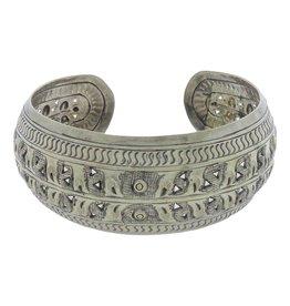 Dakini silver bracelet Myanmar
