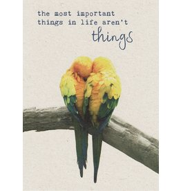 ZintenZ postcard The most important things in life