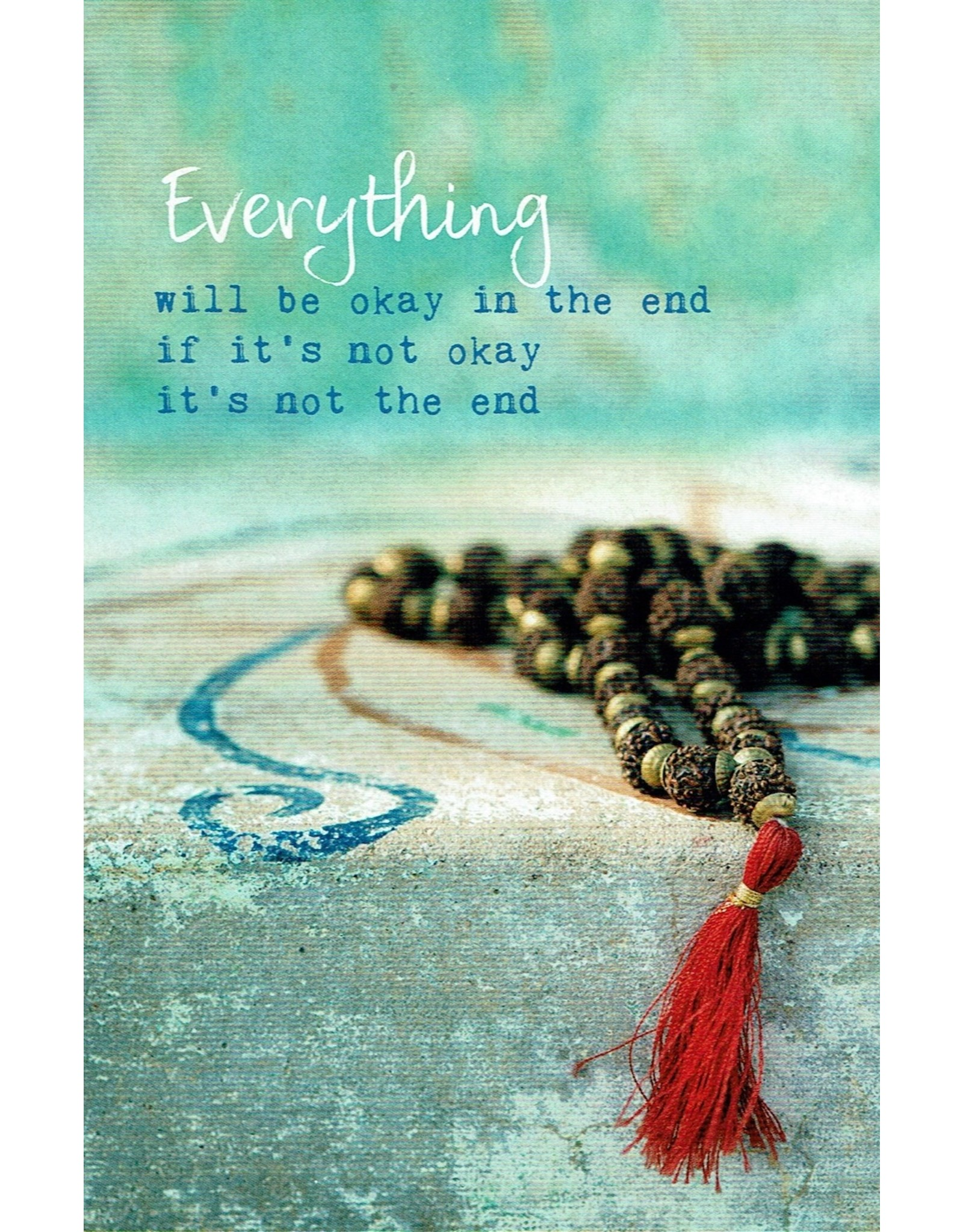 ZintenZ postcard Everything will be okay in the end