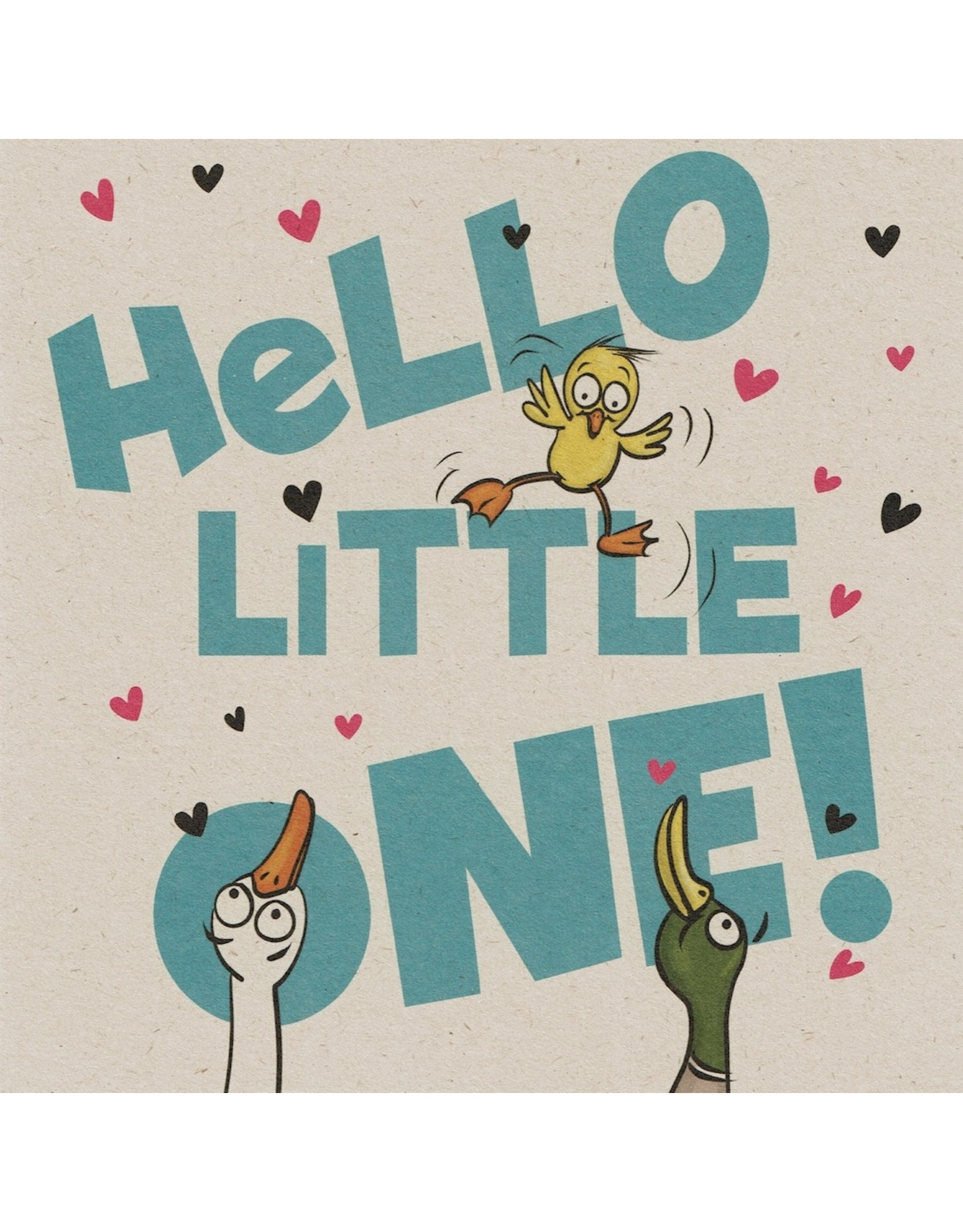 ZintenZ postcard Hello little one