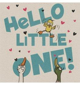 ZintenZ postkaart Hello little one