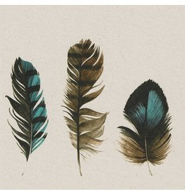 ZintenZ postcard Feathers