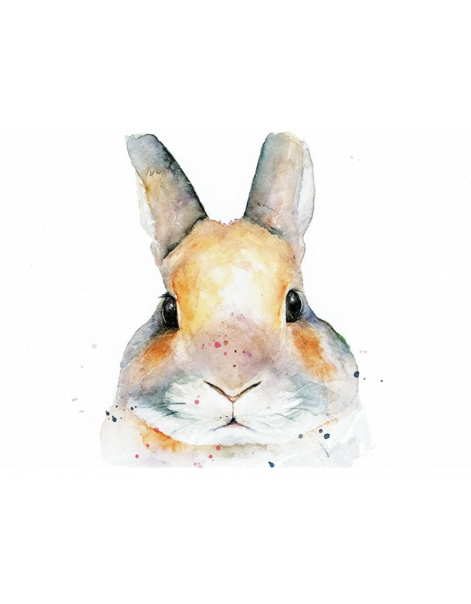 ZintenZ postcard Rabbit