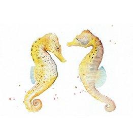 ZintenZ postcard Seahorses