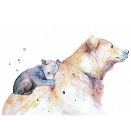 ZintenZ postcard Bear
