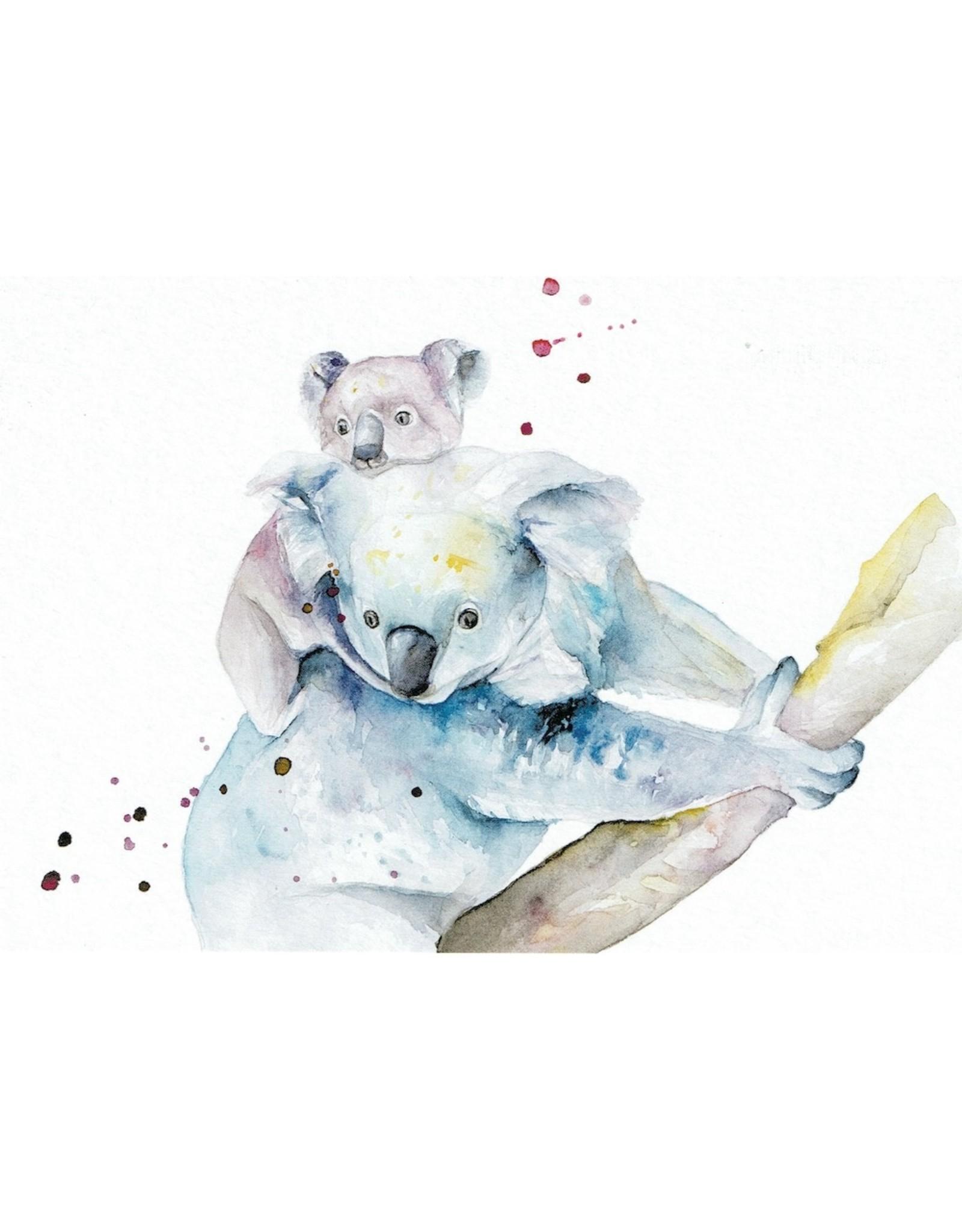 ZintenZ postkaart Koala