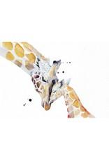 ZintenZ postkaart Giraffe