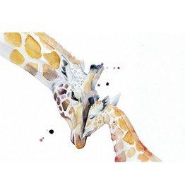 ZintenZ postcard Giraffe