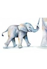 ZintenZ postcard Elephant