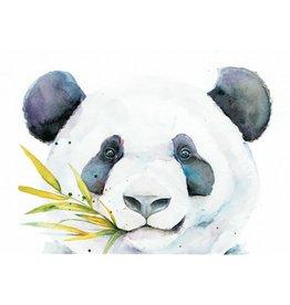 ZintenZ postcard Panda