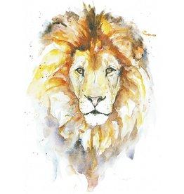 ZintenZ postcard Lion