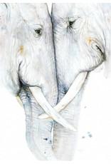 ZintenZ postkaart Olifanten