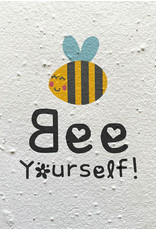 Barbosa Fair Trade wenskaart Bee Yourself