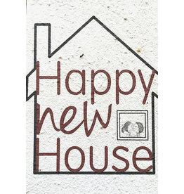Barbosa Fair Trade postcard Happy New House