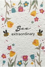 Barbosa Fair Trade wenskaart Bee Extraordinary