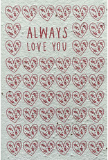 Barbosa Fair Trade postcard Always love you
