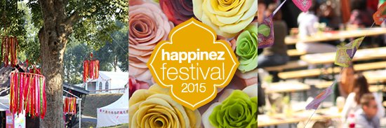 11, 12 en 13 september 2015: Happinez festival