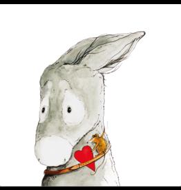 ZintenZ postcard Donkey and Mouse Solace