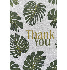Barbosa Fair Trade postcard Thank you