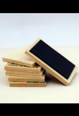 ZintenZ houten magneet Bloemenmeisje