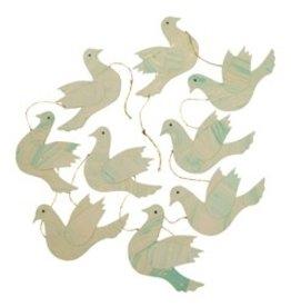 Barbosa Fair Trade Garland peace dove