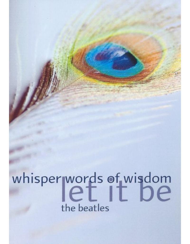 ZintenZ postkaart Whisper words of wisdom