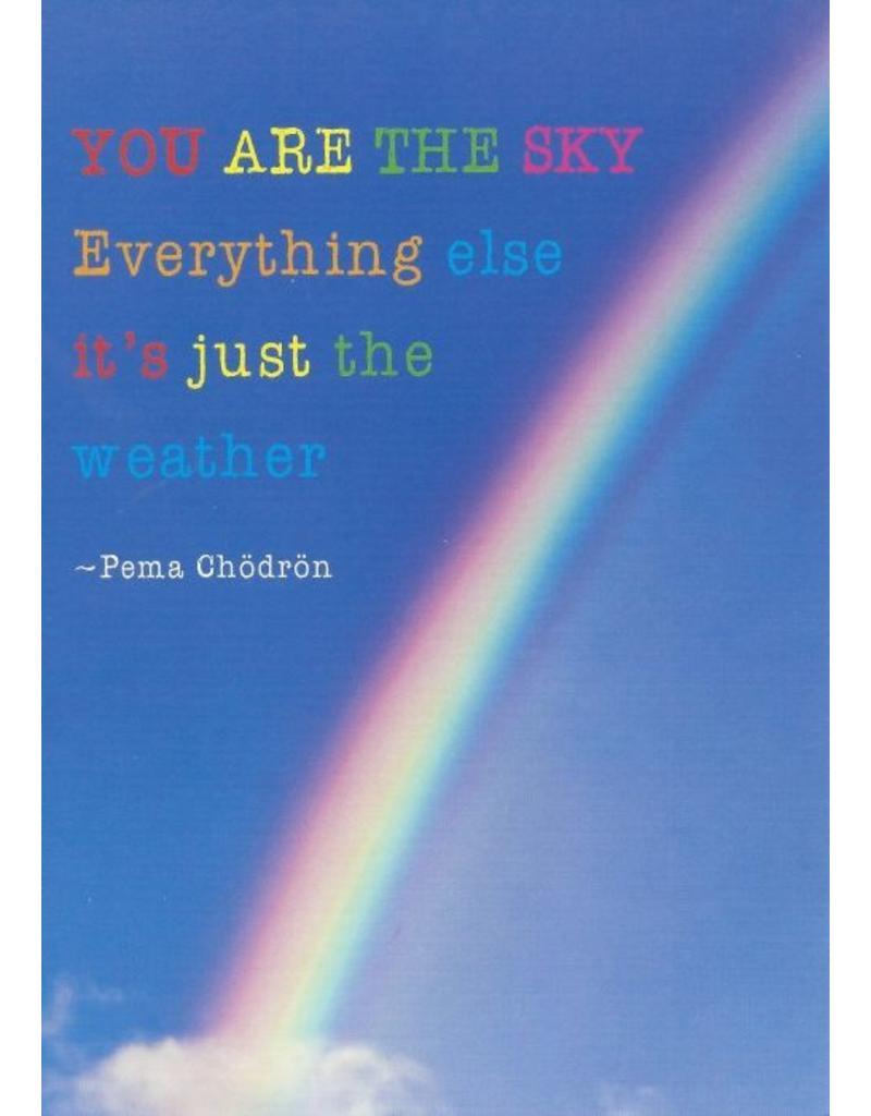 ZintenZ postkaart You are the sky