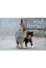 ZintenZ magneet Life is better with friends